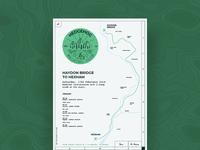 Hedgehog Walking Club Poster Series - 2