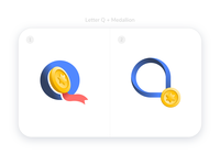 Q Medallion - Logo concept
