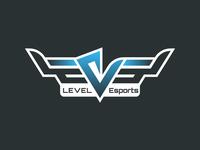 Level Esports - Gaming Center Logo