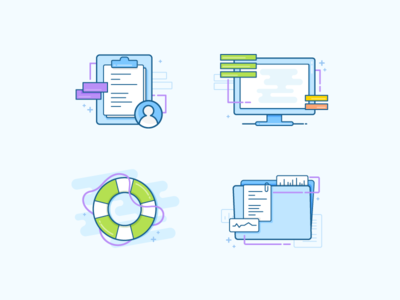 Oncology Onboarding Illustrations