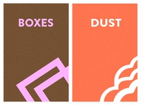 Boxes and Dust