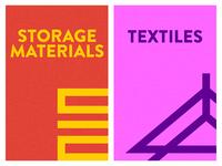 Storage and Textiles