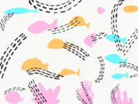 Background Pattern Underwater