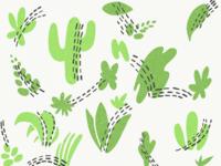 Background Pattern Foliage