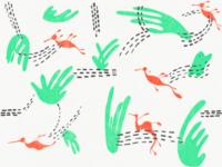 Ruby Seadragon Pattern