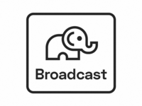 Broadcast Logo Elephant