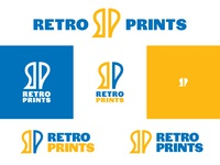 Retro Prints Logo