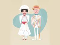 Mary & Bert
