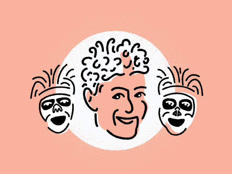 David S Pumpkins stamp design illustration david pumpkins papyrus snl saturday night live texture vintage