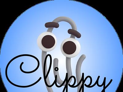 Clippy 2021 design illustration best tagincev cool art emoji icon