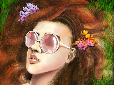 Alice (Digital drawing 2017)