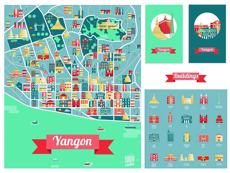 Map of Yangon by Monika Traikov for nexlabs on Dribbble Yangon Map on vientiane map, burma map, taiohae map, hanoi map, hong kong map, bumthang map, phnom penh, ho chi minh city, manila map, rangoon map, mekong river map, siem reap, jakarta map, islamabad map, bandar seri begawan map, great wall of china map, bangkok map, kuala lumpur, murang'a map, aung san suu kyi, burmese language, kuala lumpur map, taipei map, yangtze river map, naypyidaw map, myanmar map,