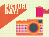 Say Cheese film design illustration camera photo picture day