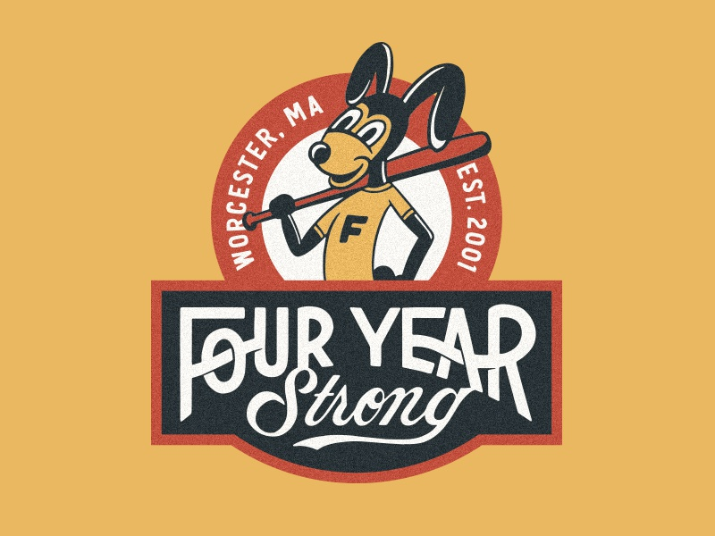 Four Year Strong vans warped tour four year strong type lettering branding hand drawn illustration design