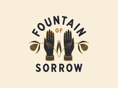Fountain of Sorrow fountain of sorrow jackson browne type lettering branding hand drawn illustration design