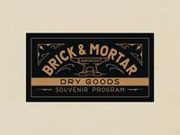Brick & Mortar Dry Goods