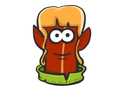 Elf Bacon stickers emoji elf mister bacon