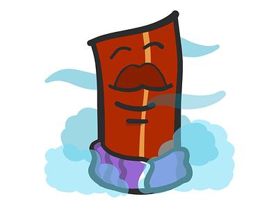 Bacon Sauna stickers emoji towel sauna mister bacon