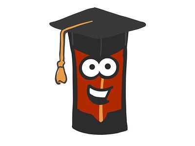 Male Student Bacon stickers emoji male student graduate mister bacon