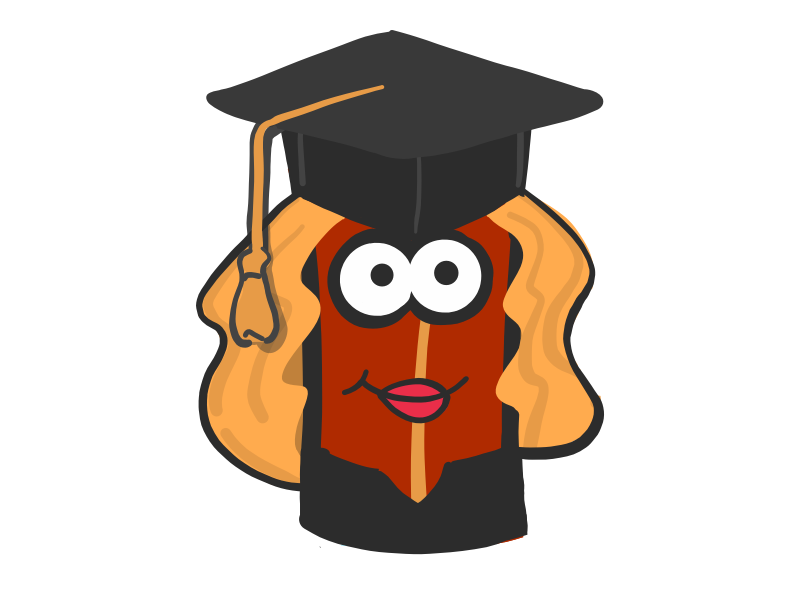 Dribbble female grad