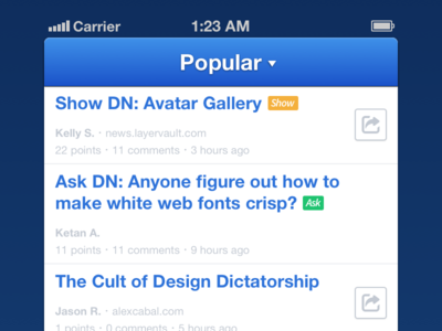 DN iPhone App