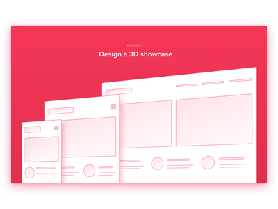 3D Transform Example transforms 3d website marketing landing webflow