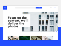 moiré  Landing Page | Daily 003