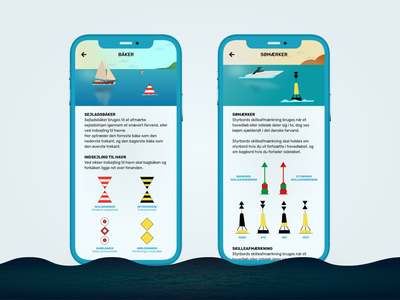 Sailing App sail ios watersport blue ocean water speedboat boat ship sailing app flat logo vector mobile app app design ux ui minimal illustration app