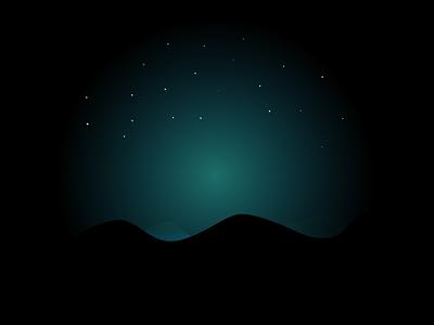 Night Sky stars graphic design space artwork art illustrator throwback night sky night sky illustration design minimal