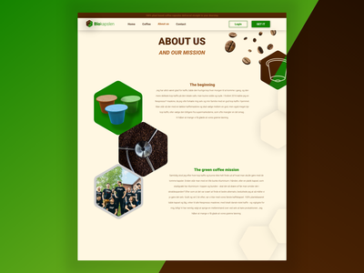 About Us | Coffee Capsules about us page about about page coffee capsules capsule web design ecommerce coffee webshop coffee webshop website flat logo vector web icon ux ui minimal design