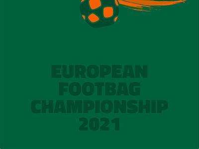 Animation | Footbag Championship tickets graphic design design branding vector flat animation illustrator web mobile footbag soccer football ball event motion design icon logo social media social media post