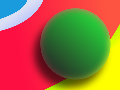 Ball Wallpaper realistic artwork art app wallpaper app web xd 3d art physical colour palette wallpaper 3d ball 3d effect vector branding graphic design illustration minimal design
