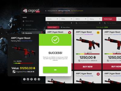 CS:GO Online Platform