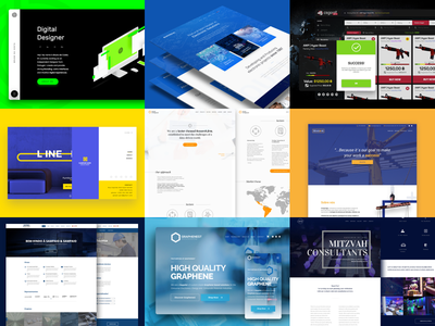 Best of Year 2016 | Web-Design screen logo illustration webdesign web bestnine2016 bestnine best9 best app 9 2016