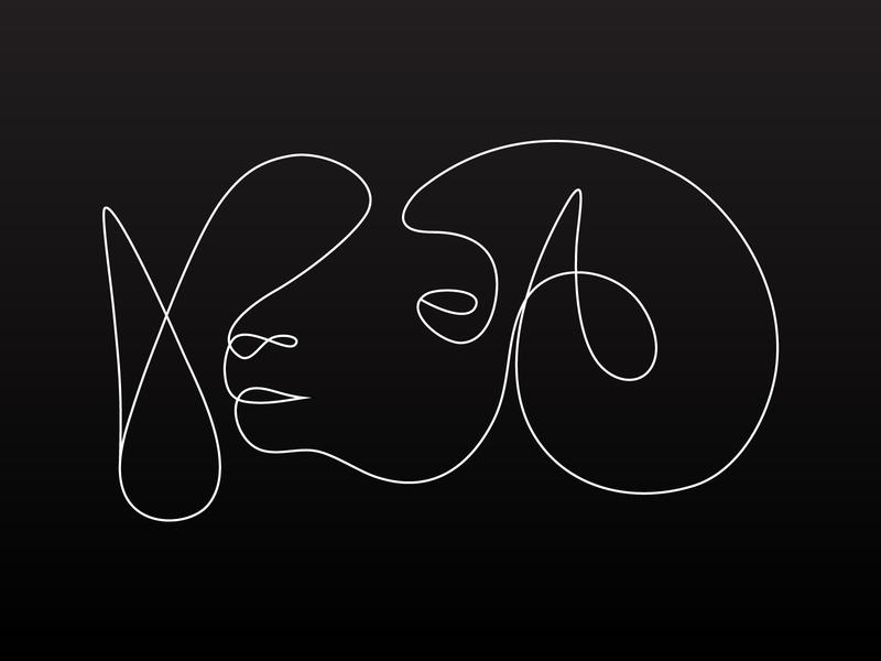Ram Line Drawing horns line art ram nature animal drawing line design digital illustration vector
