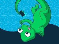 Suse Chameleon Selfie