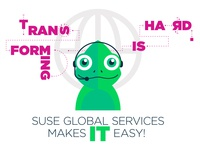 Transforming is Hard. SUSE Global Services Makes IT Easy!