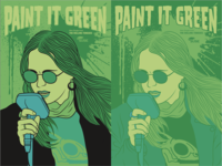 Paint It Green Posters