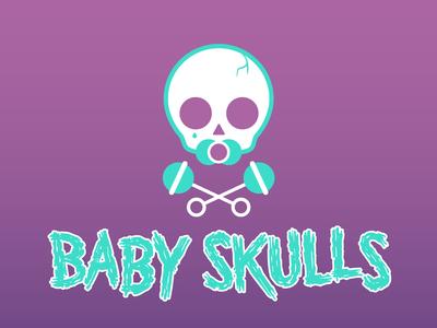 Baby Skulls Band Logo