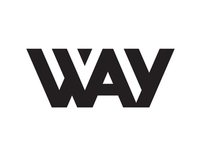Way design website identity lettering web flat type minimal illustration typography vector logo branding