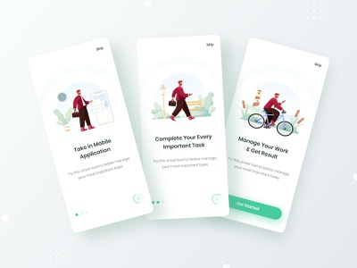 Task Management Onboarding Application onboarding casestudy uiconcept personalapp sketch figma xd projectmanagemtn taskmanagement uidesign wireframe free trendy interaction mobileapplication uxdesign ux ui mobile app