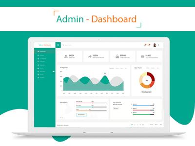 Admin Dashboard web app modern materialize material design material google material design google material dashboard backend admin template admin dashboard admin