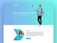 Selfy Photography Template