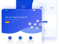 Digital Agency Landing Page Explore