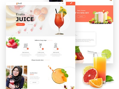 Buckle Juice Landing Page
