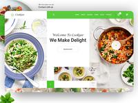 Cookjar Restaurant Landing Page