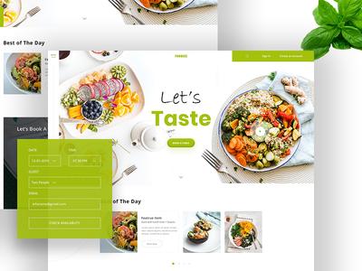 Foodies II Food & Restaurant  🥧🍷