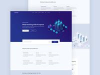 HostMeed:  Domain & Hosting Landing Page