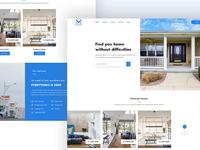 Real Estate // Exploring Landing Page