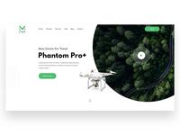 Phantom Pro // Exploring Landing Page